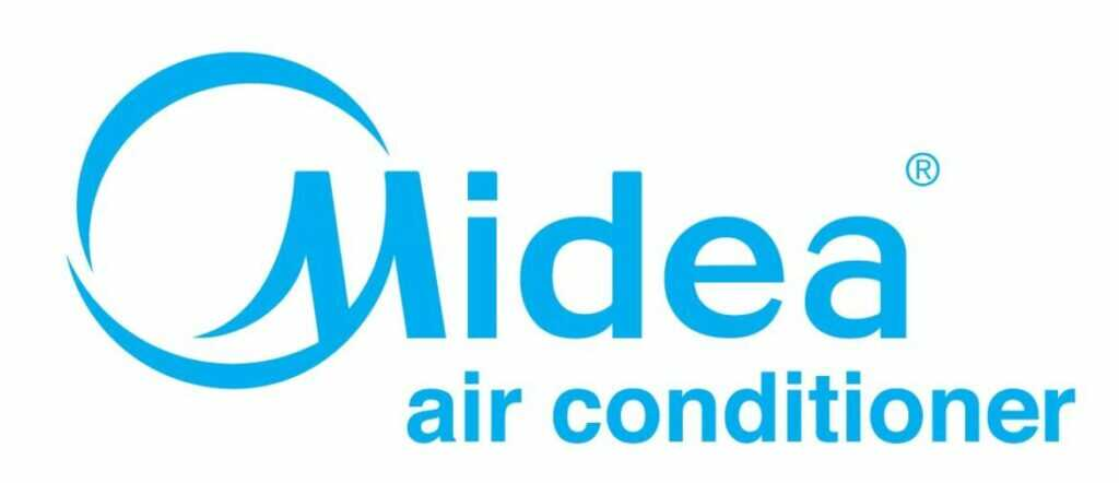 Logo Midea air conditioner